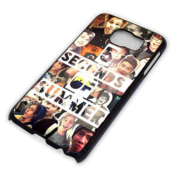 5SOS collage photo for Samsung Galaxy S6 Case **
