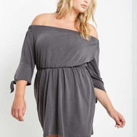 Kels Off the Shoulder Dress Plus Size