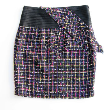 Anthropologie Tweed Skirt 6 NWT