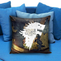 Game of Thrones Winter Is Coming Stark 77 Pillow case