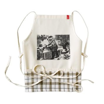 Kitchen Apron - Santa's Workshop