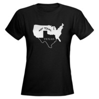 Texas / Not Texas Tee on CafePress.com