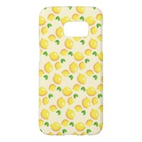 Lemon Pattern Samsung Galaxy S7 Case