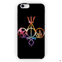 All Logo Mortal Instruments Hunger Games Divergent Percy Jackson Harry Potter For iPhone 6 / 6 Plus Case