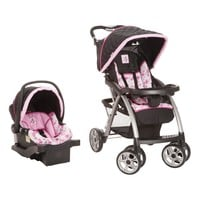 Saunter Luxe Car Seat & Stroller Floral Travel System