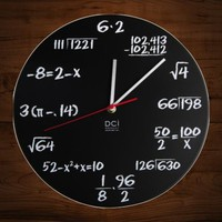 DCI Pop Quiz Wall Clock - $20 | The Gadget Flow