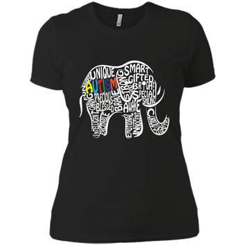 Autism Awareness Elephant T Shirt shirt