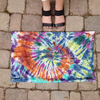 READY TO SHIP- tie dye pillowcase