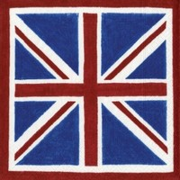 Entertaining with Caspari Union Jack Paper Dinner Napkins, Pack of 20
