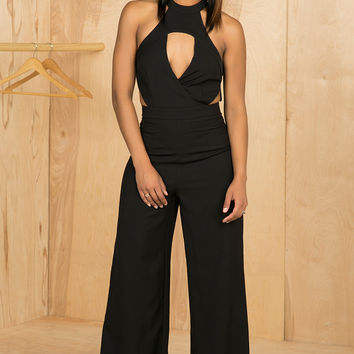 Cut It Out Jumpsuit- FINAL SALE