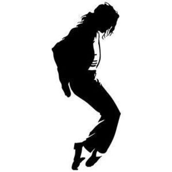 Michael Jackson Silhouette Vinyl Car/Laptop/Window/Wall Decal