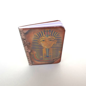 Pharaoh Travel Journal, Mini Egyptian Notebook, Adventure Travel Diary, Pyramids Travel Log, Ancient Egypt Journal, Scrolls Jotter