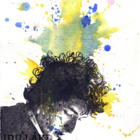 Portrait Painting of Bob Dylan Art Print From an Original Watercolor Painting 13 x 19 in. Poster Print