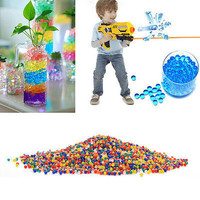 10000 X Colorful Water Bullet Balls Water Beads Mud Grow Magic Balls U67
