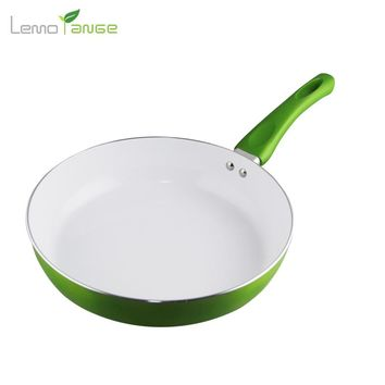 26 cm Non-stick Cookware Lemorange Ceramic Coating Egg Frying Pan General Use For Gas And Induction TQQ0060