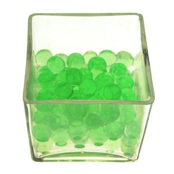 Magic Water Beads Jelly Balls Vase Filler, X-Large, 225g, Apple Green