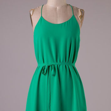 Shamrock Simplicity Dress with Racerback