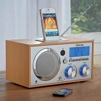 Alarm Clock with Digital FM Radio @ Fresh Finds