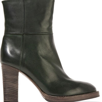 Leather ankle boots | Brunello Cucinelli | US | THE OUTNET