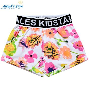 New Baby boy girl pants baby clothes children's Floral baby child shorts children clothing baby shorts