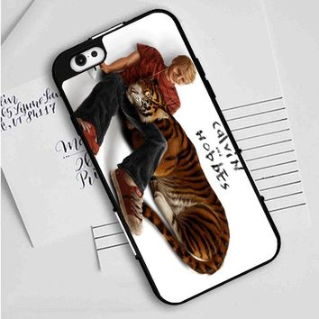 Calvin And Hobbes (realistic) iPhone Case