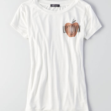 AEO Soft & Sexy NYC Easy T-Shirt, White