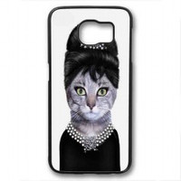 cat audrey for samsung galaxy s6 case