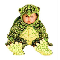 Underwraps Green Turtle Halloween Party Complete Costume