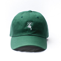 HEART x Spring Green Low Profile Hat
