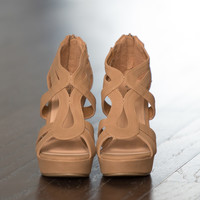The Kinley Wedges Tan