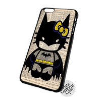 Hello Kitty Batman Custom Poster Cell Phones Cases For Iphone, Ipad, Ipod, Samsung Galaxy, Note, Htc, Blackberry