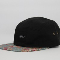 ANDCLOTHING — Floral Peak AND 5 Panel