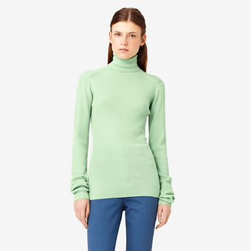 Kate Spade Saturday Ribbed Turtleneck Sweater