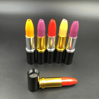 Lipstick Shaped Metal Pipe