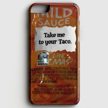 Taco Bell Take Me To Your Taco iPhone 6/6S Case