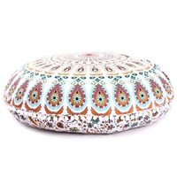 "Aza Boho Home 32"" Round Floor Pillow"