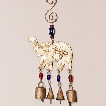 Elephant Bells and Beads Chime