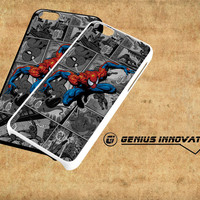 Spiderman Marvel Comic Samsung Galaxy S3 S4 S5 Note 3 , iPhone 4(S) 5(S) 5c 6 Plus , iPod 4 5 case