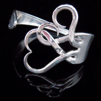 Silverware Jewelry  Fork Bracelet in Original by MarchelloArt