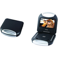 """Sylvania 7""""  Portable Dvd Player With Integrated Handle (black)"""