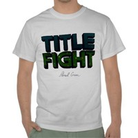 TITLE FIGHT HOODIE from Zazzle.com