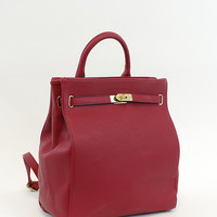 The Double Duty Handbag Backpack