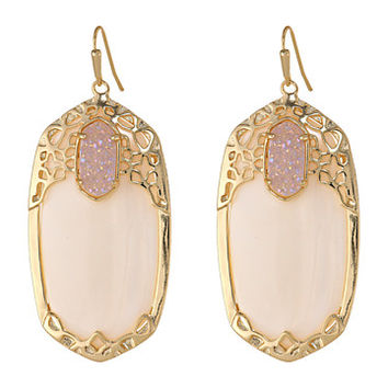 Kendra Scott Deva Earring Gold Glitz - Zappos.com Free Shipping BOTH Ways