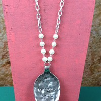 Gypsy Soul Spoon Necklace - NEK708PR