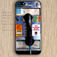 iPhone 5s 6 case Retro red pay phone dream catcher colorful phone case iphone case,ipod case,samsung galaxy case available plastic rubber case waterproof B603