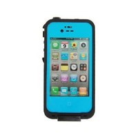 Generic Water Proof Carrying Case for iphone 4 4S Case Cover (light blue)