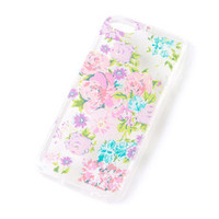 Pastel Floral Design Cover for iPhone 5c
