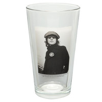 John Lennon - Beret Pint Glass