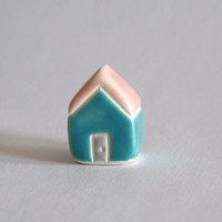 Little Clay House Pink Turquoise