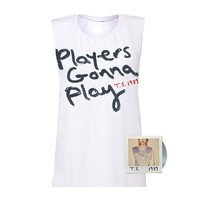 PRE BUY White Players Gonna Play Ladies Tank CD Package